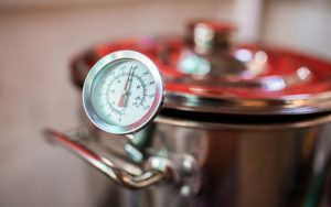 Thermometers beer at home